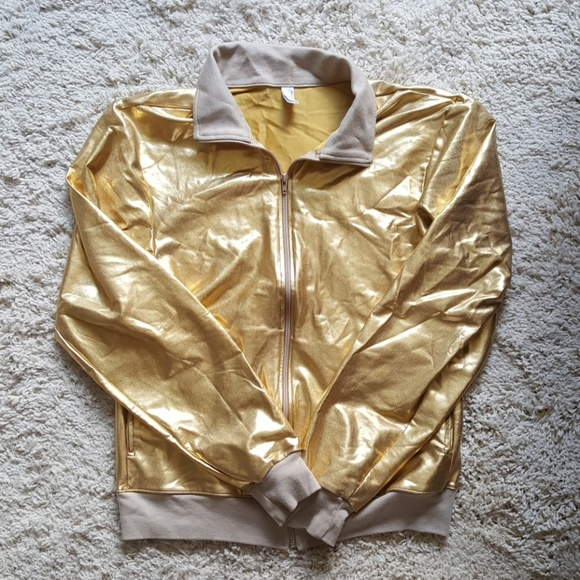 4a5d73344 American Apparel Gold Lamé Jacket